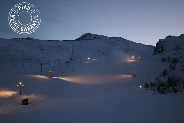 ski la nuit